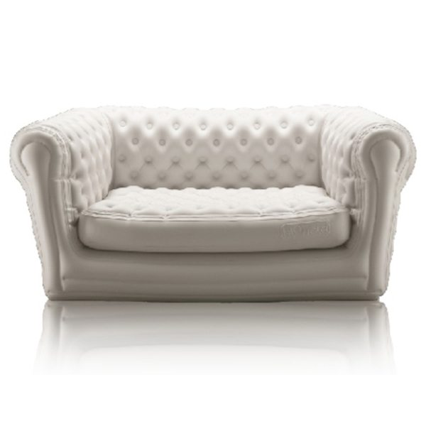 Canap gonflable chesterfield blanc ml locations - Canape chesterfield blanc ...