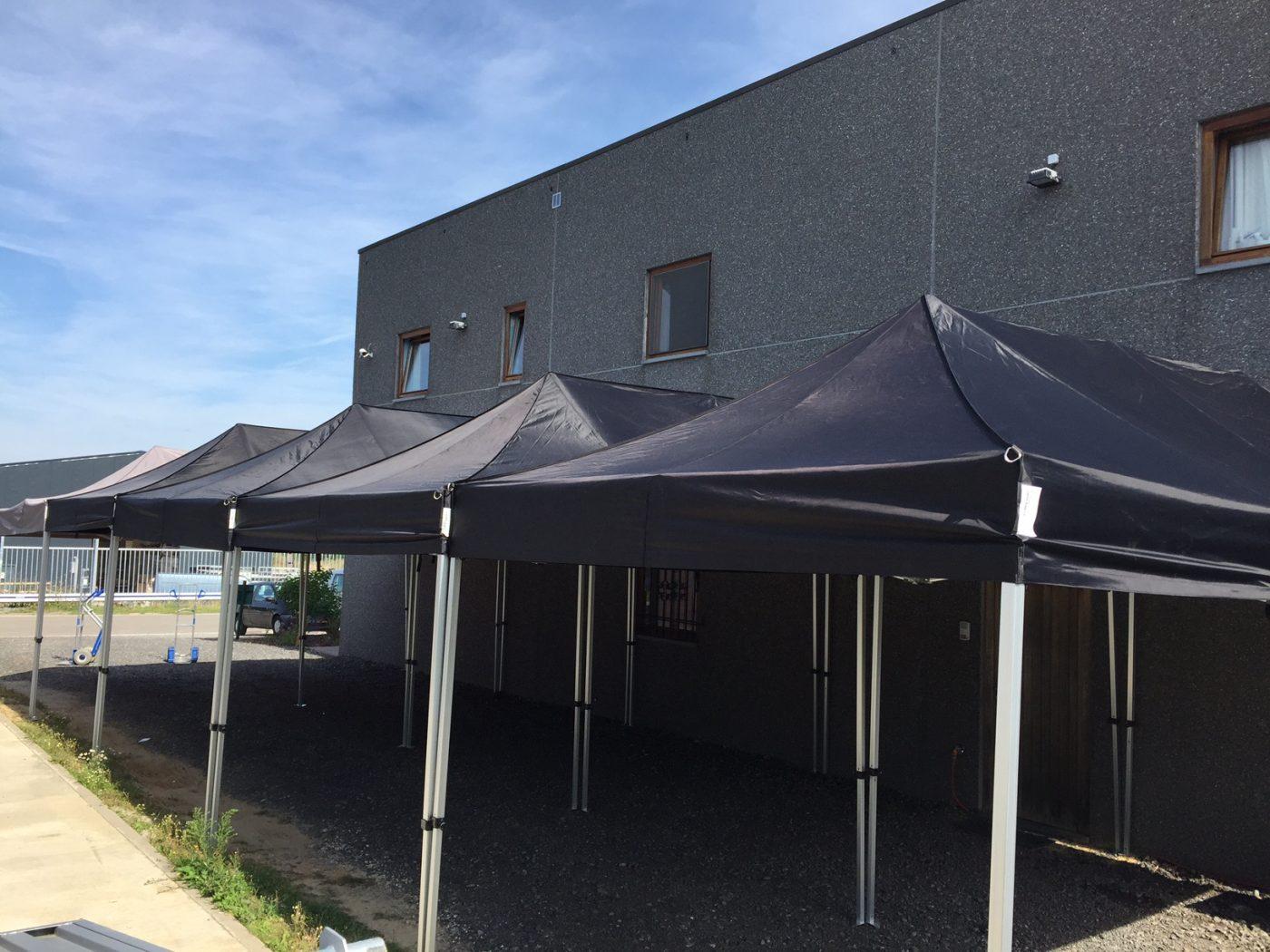 Canopy 6x3m taupe tonnelle en location ml locations - Location de tonnelle ...