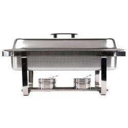 Chafing dishes en location