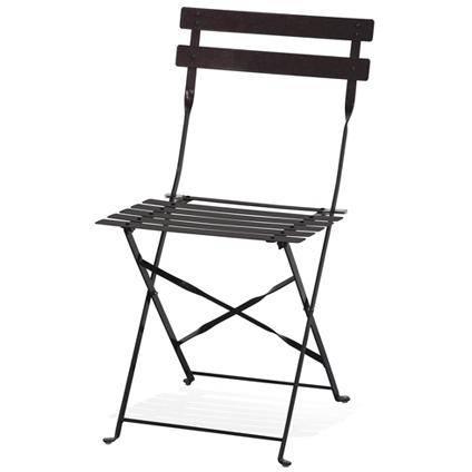 Chaise bistro grise en location