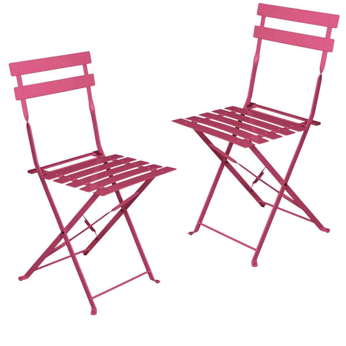 location chaises chaise bistro rose fuchsia ml locations. Black Bedroom Furniture Sets. Home Design Ideas