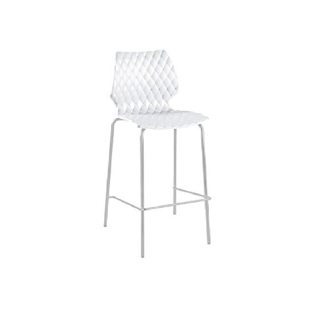Chaise Design Blanche : Chaise haute en location design blanche ml