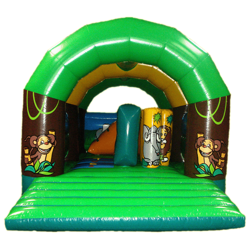 Location ch teau gonflable multiplay jungle 5x6m ml locations - Prix chateau gonflable ...