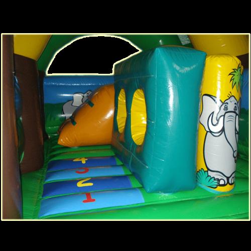 Château gonflable multiplay jungle - château gonflable en location