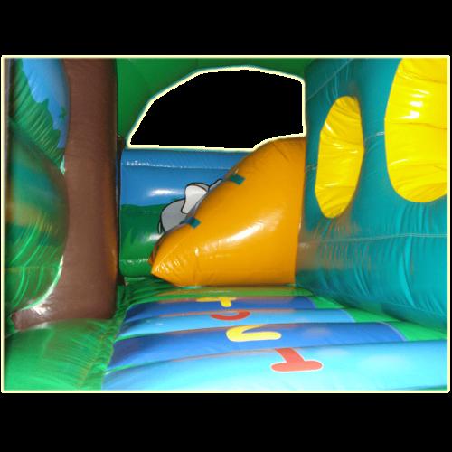 Château gonflable à louer multiplay jungle - château gonflable en location