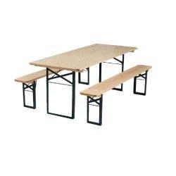 Tables et bancs de brasseur - location table et bancs de brasserie