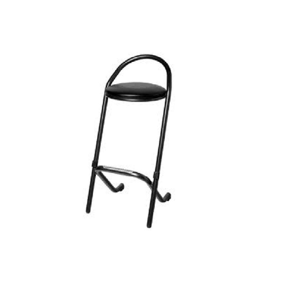 tabourets de bar en cuir noir louer ml locations. Black Bedroom Furniture Sets. Home Design Ideas