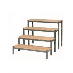 escalier pour podium - location de podium et praticables de scene