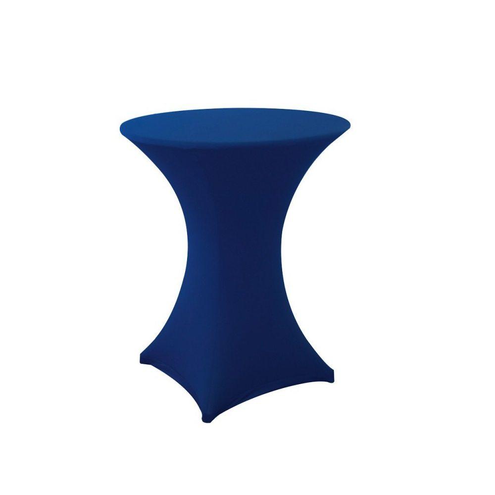 Location nappe pour mange debout bleu fonc ml locations - Nappe bleu fonce ...