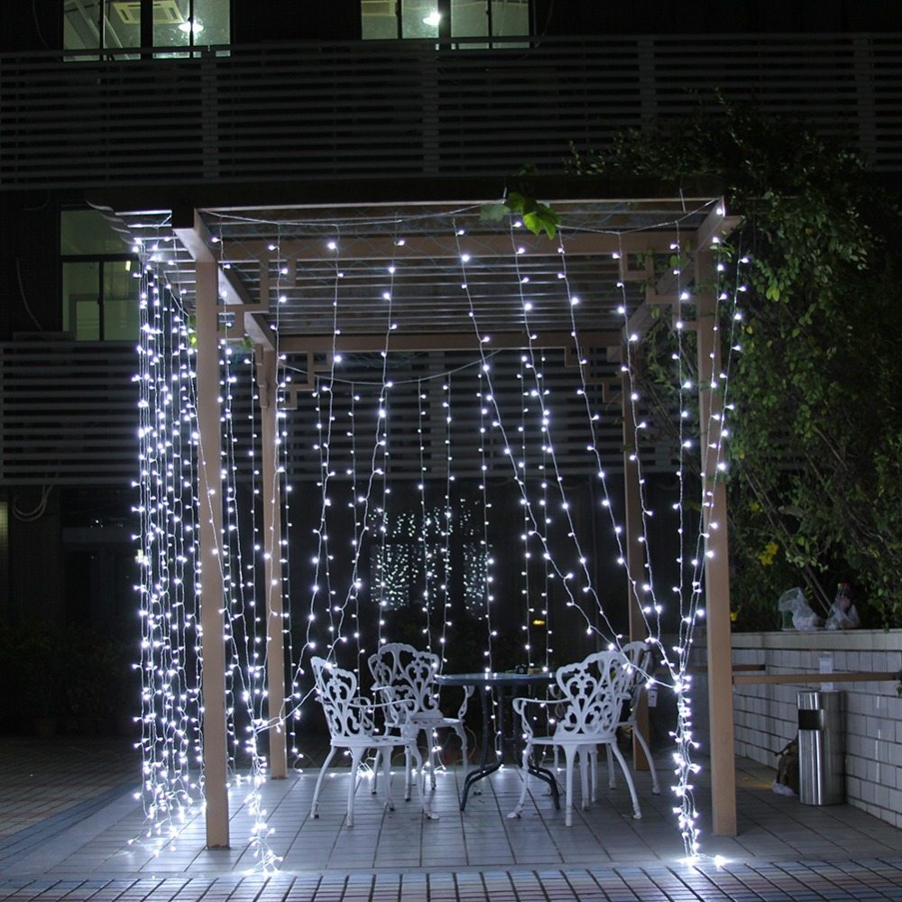 Rideaux Lumineux Guirlande Lumineuse 230 X 230 Cm Ml Locations