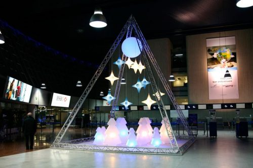 Déco hiver, noel - location sapin LED lumineux