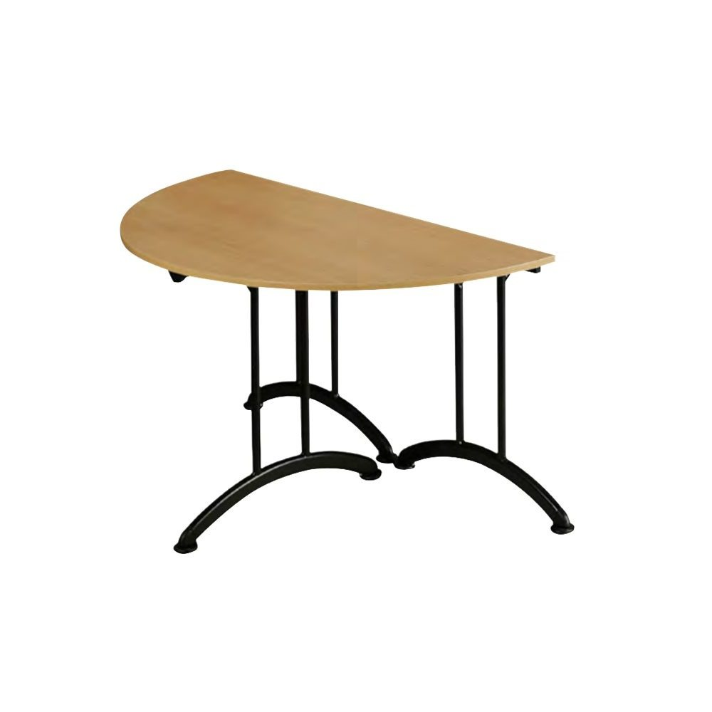 table demi ronde 150 cm ml locations. Black Bedroom Furniture Sets. Home Design Ideas