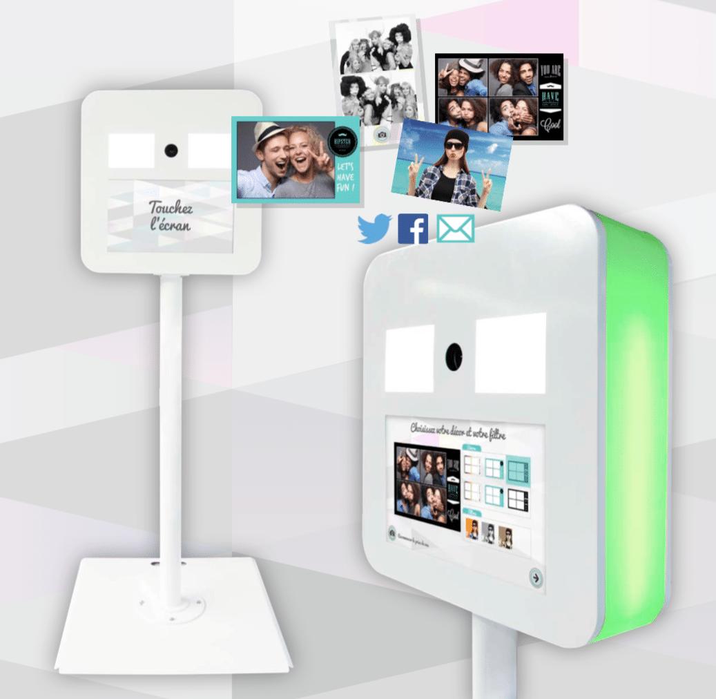 borne photo selfie photomaton en location ml locations. Black Bedroom Furniture Sets. Home Design Ideas