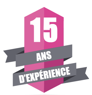 15 ans d'expérience